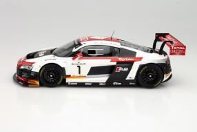 Modellauto Audi R8 LMS Ultra Winner 24 Stunden Spa 2014 in 1:18
