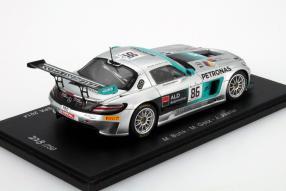 Mercedes SLS AMG HTP Motorsport Spa 2014 in 1:43