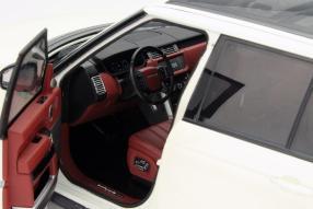 Modellauto Range Rover Welly Maßstab 1:18