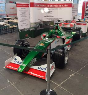 Jaguar F1 am Stand von ck-modelcars AvD Oldtimer Grand Prix 2015