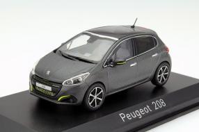 Modellauto Peugeot 208 von Norev in 1:43