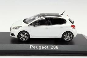 Modell Peugeot 208 von Norev im Maßstab 1:43