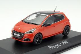 Peugeot 208 von Norev in 1:43