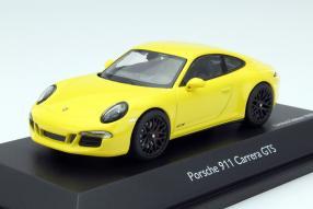 Porsche 911 / 991 GTS Modellauto Maßstab 1:43