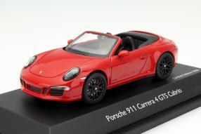 Schuco Porsche 911 / 991 GTS Modellauto Maßstab 1:43