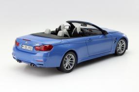Modell BMW M4 Cabriolet im Maßstab 1:18