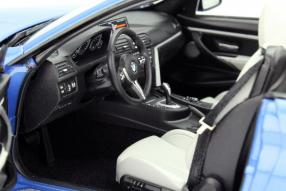 Paragon BMW M4 Cabriolet im Maßstab 1:18