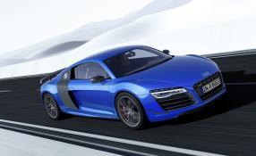 Das Vorbild im Fahren: Audi R8 LMX