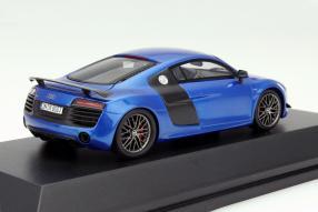 model car Audi R8 LMX Spark scale 1:43