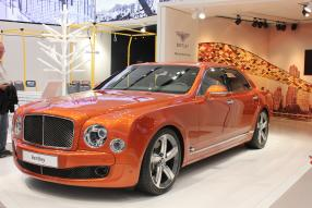 Bentley Mulsanne in Orange Flame