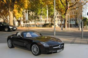 Mercedes-Benz SLS AMG Roadster Maßstab 1:18