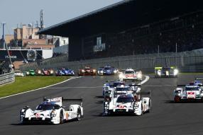 Porsche beim WEC Sechsstundenrennen Nürburgring 2015