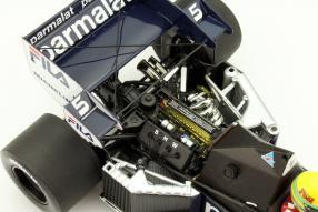Modellauto Brabham BT52B im Maßstab 1:18 von Minichamps