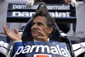 Nelson Piquet im BT52 am 21. Juni 2015