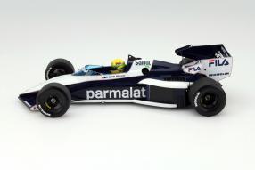Brabham BT52B im Maßstab 1:18 von Minichamps A. Senna