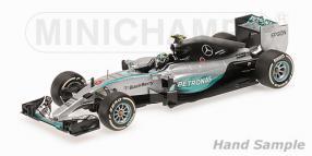 Modellauto Nico Rosberg Formel 1 2015 Maßstab 1:18
