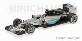 Modellauto Lewis Hamilton Formel 1 2015 W06 Malaysia Maßstab 1:18