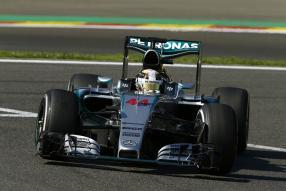 Lewis Hamilton in Spa-Francorchamps 2015