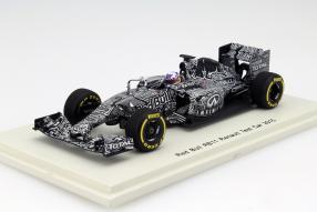 Daniel Ricciardo RB11 Test Car 2015 1:43