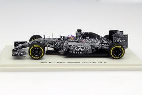 model car Daniel Ricciardo RB11 Test Car 2015 scale 1:43