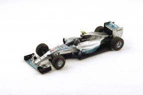 Modellauto Nico Rosberg Formel 1 2015 #6 Maßstab 1:18