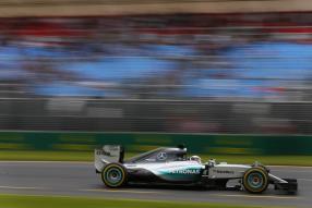 Lewis Hamilton und der W06 in Australien 2015