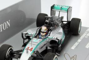Modellauto Lewis Hamilton Formel 1 2015 #44 Maßstab 1:43