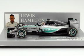 Minichamps Lewis Hamilton Formel 1 2015 #6 Maßstab 1:43
