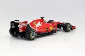Model car Sebastian Vettel Ferrari SF15-T scale 1:18