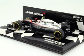 model car McLaren MP4-30 scale 1:43