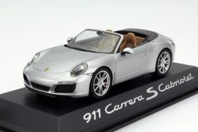 Modellauto Porsche 911 991/II von Herpa im Maßstab 1:43