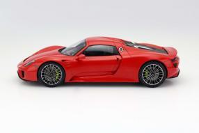 Modellauto Porsche 918 hybrid Maßstab 1:18