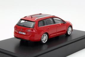 model car VW Golf VII Variant scale 1:43