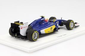 Modellauto Sauber C34 F1 2015 Maßstab 1:43