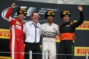 Mercedes AMG Petronas F1 gewinnt GP Russland