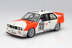 BMW M3 E30 #42 Cor Euser Maßstab 1:18