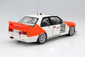 model car BMW M3 E30 #42 Cor Euser scale 1:18