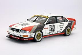Modellauto Audi V8 DTM 1991 Frank Biela 1:18