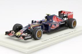 Toro Rosso SRT10 Formel 1 2015 Maßstab 1:43 Spark
