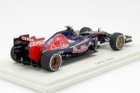 model car Toro Rosso SRT10 Formel 1 2015 scale 1:43 Spark