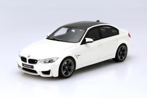 BMW M3 F 80 Modellauto Maßstab 1:18