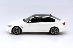 model car BMW M3 F80 sedan scale 1:18