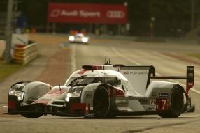 Audi R8 e-tron quattro #7, 3. Platz in Le Mans 2015