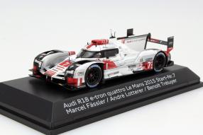 Audi R8 e-tron quattro #7 Modellauto, 3. Platz in Le Mans 2015