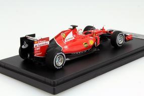 model car Ferrari Sebastian Vettel scale 1:43