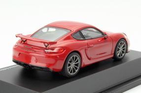 Porsche Cayman GT4 Schuco Maßstab 1:43