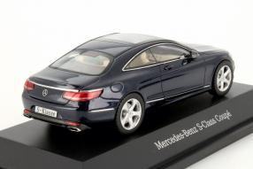 Modellauto Mercedes-Benz S-Klasse Coupé 1:43