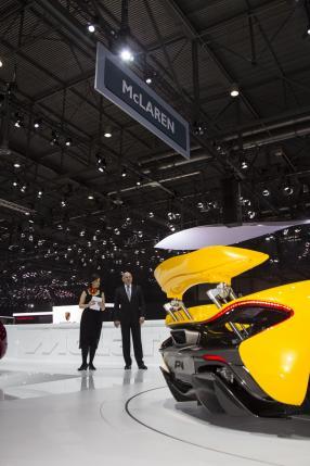 McLaren P1 Genfer Salon 2013 / McLaren Automotiv Ltd.