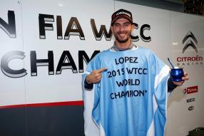 José María López WTCC Weltmeister 2015