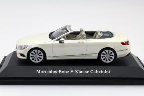 model car Mercedes-Benz S-Class Convertible scale 1:43